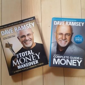 2 Dave Ramsey books
